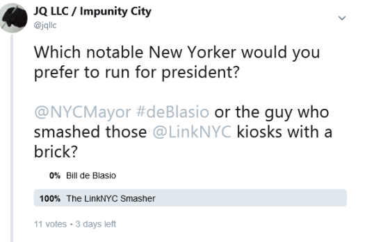 Screenshot_2019-05-25 JQ LLC Impunity City on Twitter Which notable New Yorker would you prefer to run for president NYCMay[...]