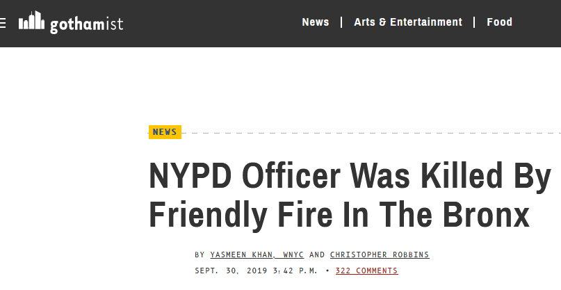 Screenshot_2019-12-14 NYPD Officer Was Killed By Friendly Fire In The Bronx