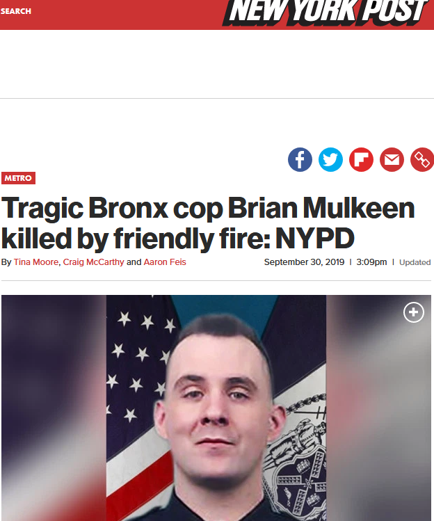 Screenshot_2019-12-14 Tragic Bronx cop Brian Mulkeen killed by friendly fire NYPD